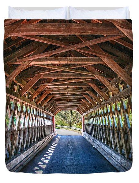 Chiselville Bridge Duvet Cover