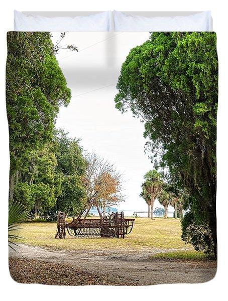 Chisolm Island Gates Duvet Cover