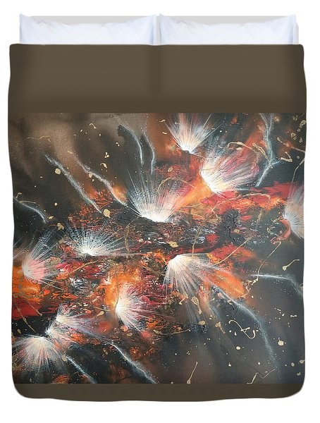 Chocolate Explosions Duvet Cover