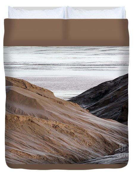 Chocolate River Duvet Cover