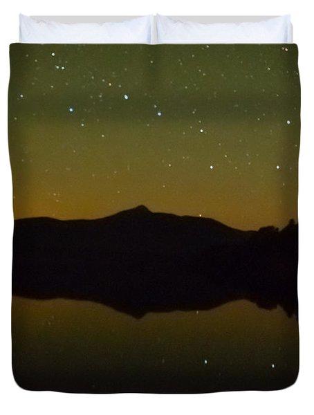 Chocorua Stars Duvet Cover