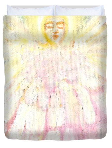 Choiring Angel Duvet Cover