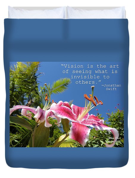 Choose Your Quote Choose Your Picture 19 Duvet Cover