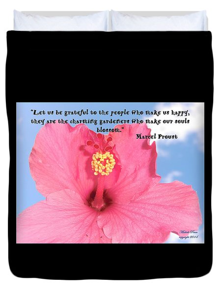 Choose Your Quote Choose Your Picture 4 Duvet Cover