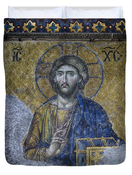 Christ Pantocrator IIi Duvet Cover