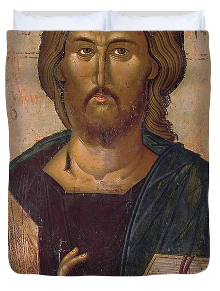 Christ The Redeemer Duvet Cover