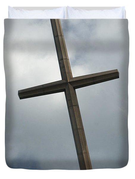 Christian Cross Duvet Cover