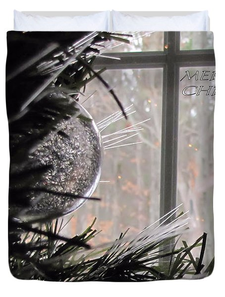 Christmas Bulb Duvet Cover