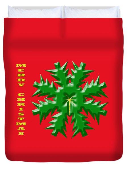 Christmas Card 1 Duvet Cover
