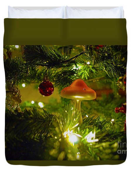 Duvet Cover featuring the photograph Christmas Card by Cassandra Buckley