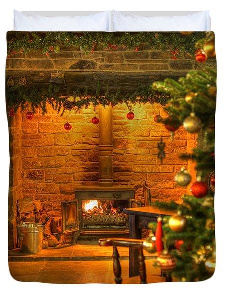 Christmas Glow Duvet Cover