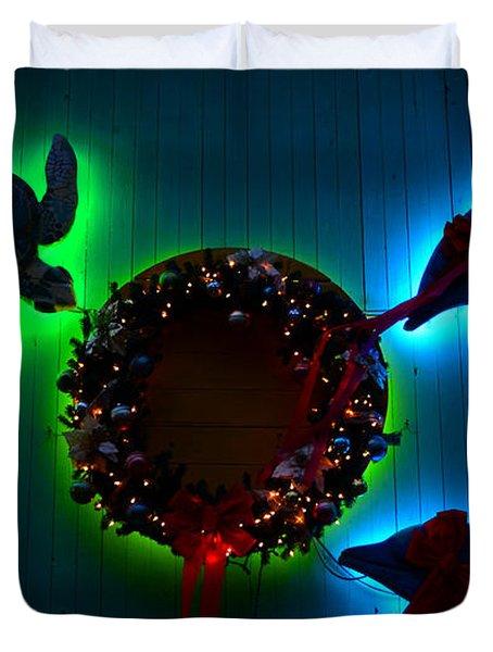 Christmas Island Style Duvet Cover