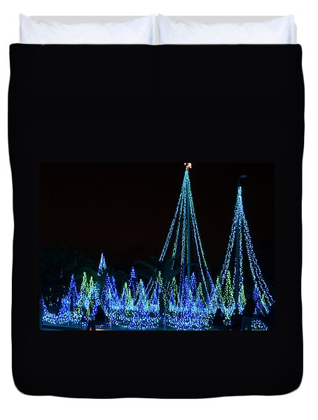 Christmas Lights 1 Duvet Cover