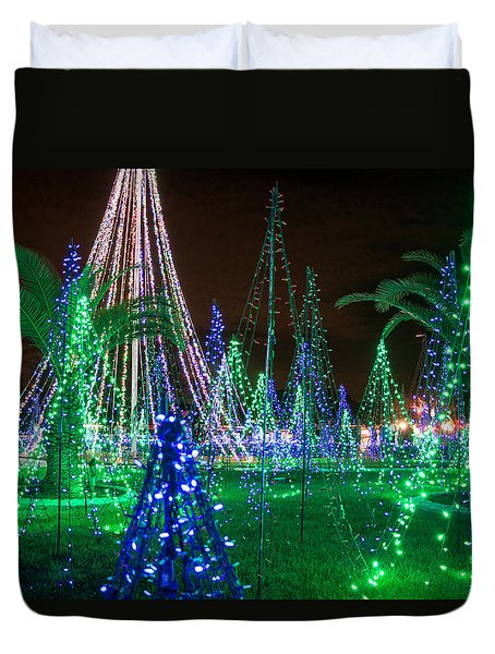 Christmas Lights 2 Duvet Cover