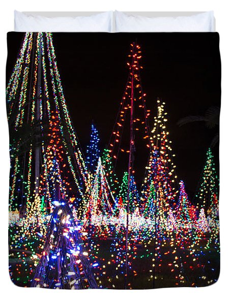 Christmas Lights 3 Duvet Cover