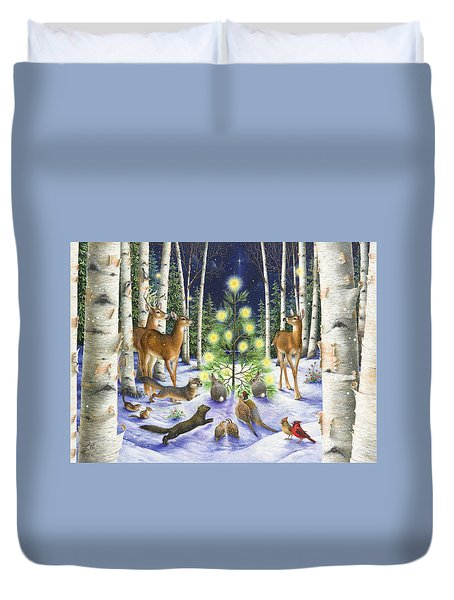 Christmas Magic Duvet Cover