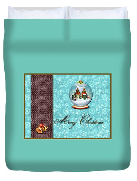Christmas Card 13 Duvet Cover