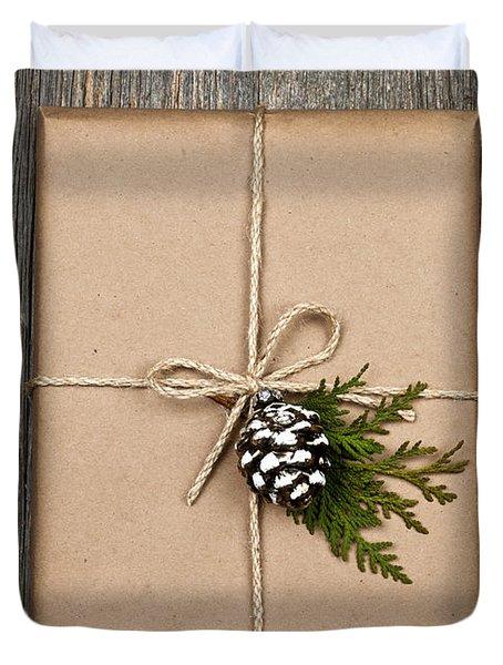 Christmas Present  Duvet Cover by Elena Elisseeva
