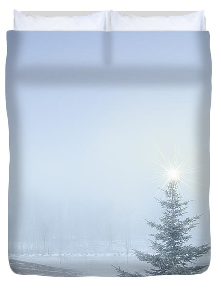 Christmas Spirit Duvet Cover