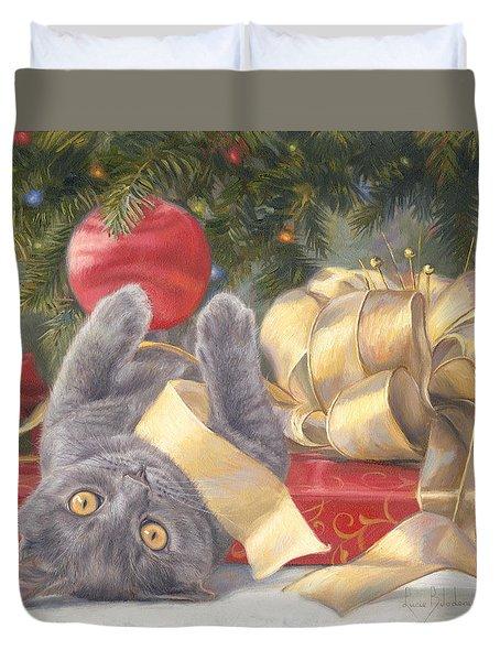 Christmas Surprise Duvet Cover