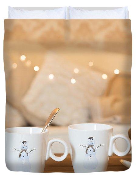 Christmas Teabreak Duvet Cover