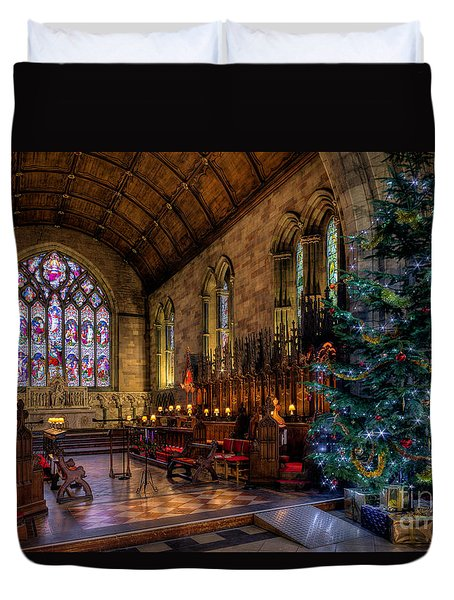 Christmas Time Duvet Cover by Adrian Evans