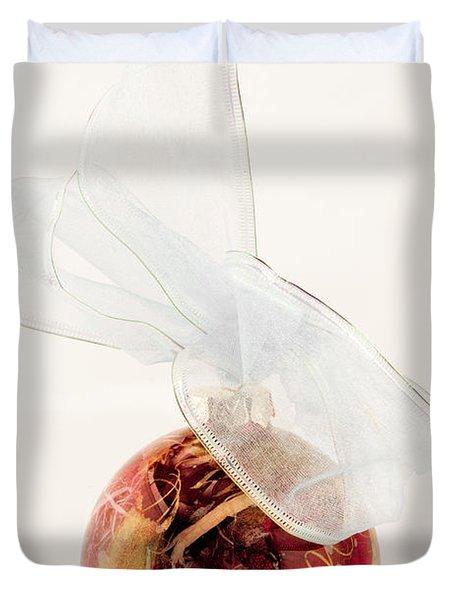 Christmas Decoration Decoupaged Duvet Cover by Vizual Studio
