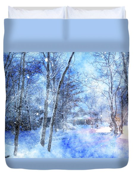 Christmas Wishes Duvet Cover
