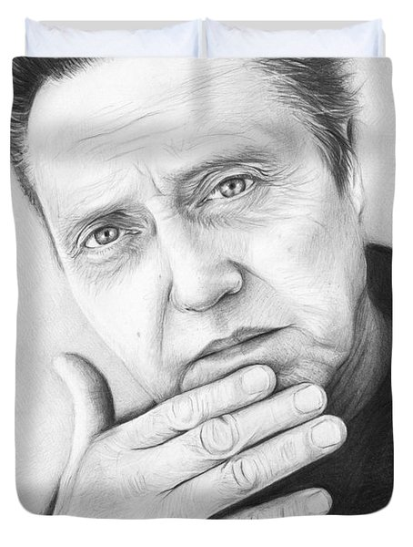 Christopher Walken Duvet Cover