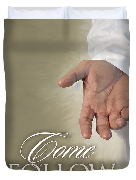 Christ's Hand Duvet Cover
