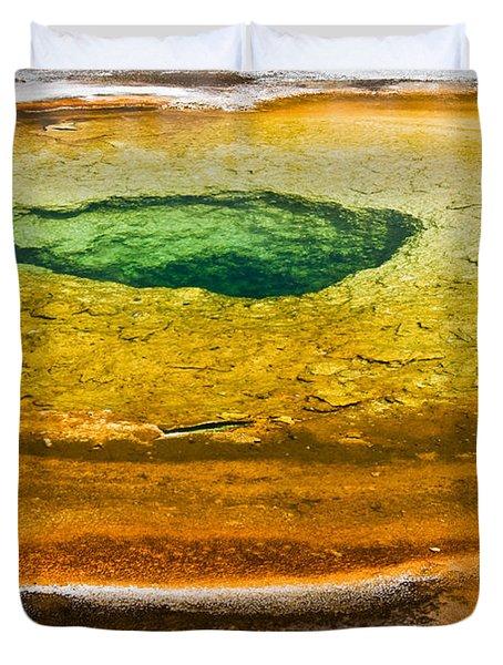 Chromatic Pool Vertical Duvet Cover