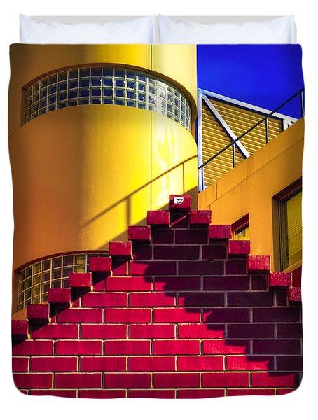 Chromatic Duvet Cover by Wayne Sherriff