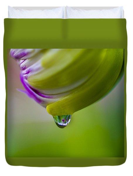 Raindrop Bud Duvet Cover