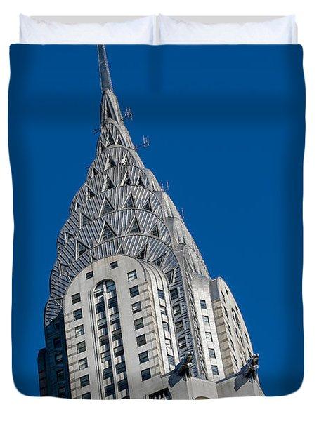 Chrysler Building Duvet Cover