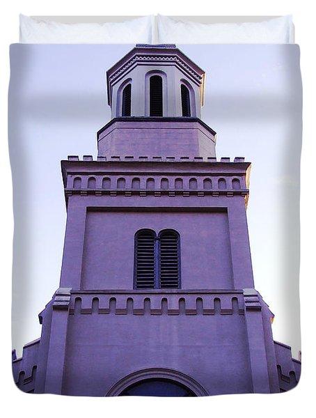 Church Duvet Cover by Andrea Anderegg