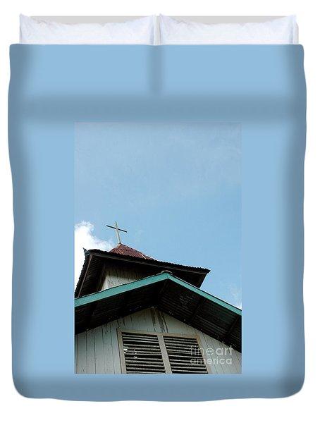 Church Duvet Cover by Antoni Halim
