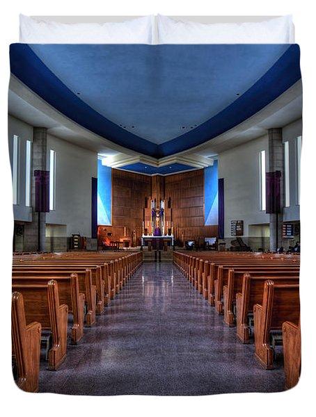 Church Of Saint Columba Duvet Cover by Amanda Stadther