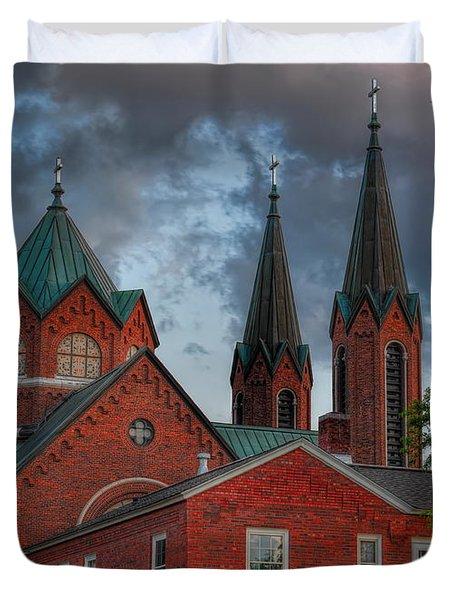 Church Of The Resurrection Duvet Cover