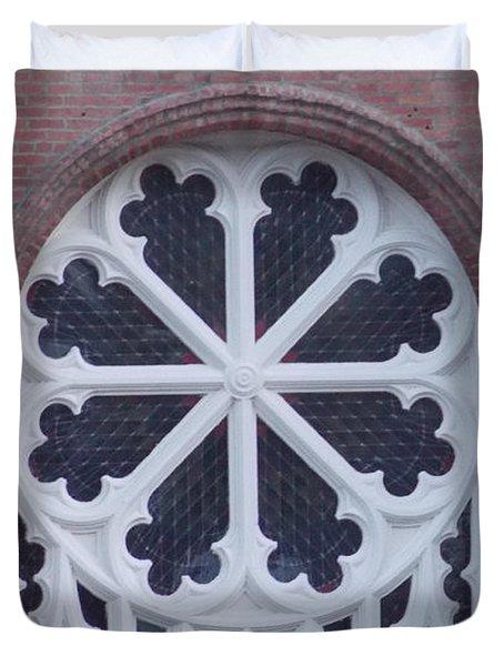 Church Rose  Duvet Cover