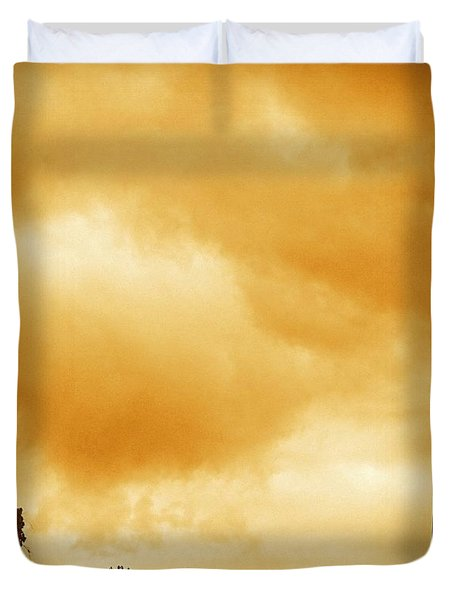 Church Steeple Duvet Cover