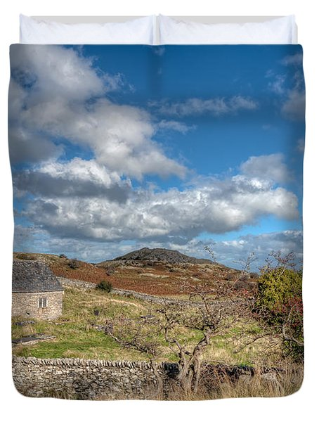 Church View Duvet Cover by Adrian Evans