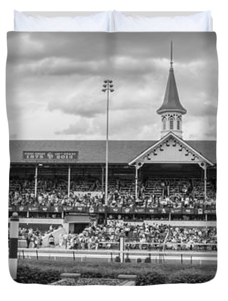 Churchill Downs And Twin Spires  Duvet Cover