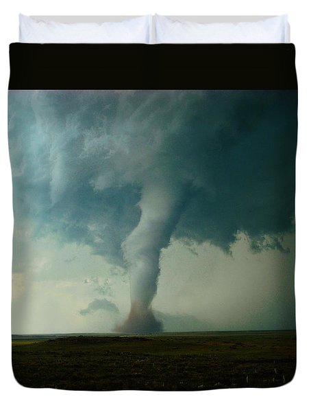 Churning Twister Duvet Cover