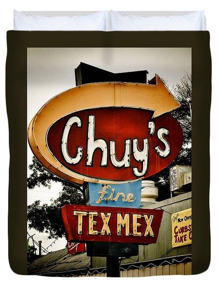 Chuy's Sign 2 Duvet Cover