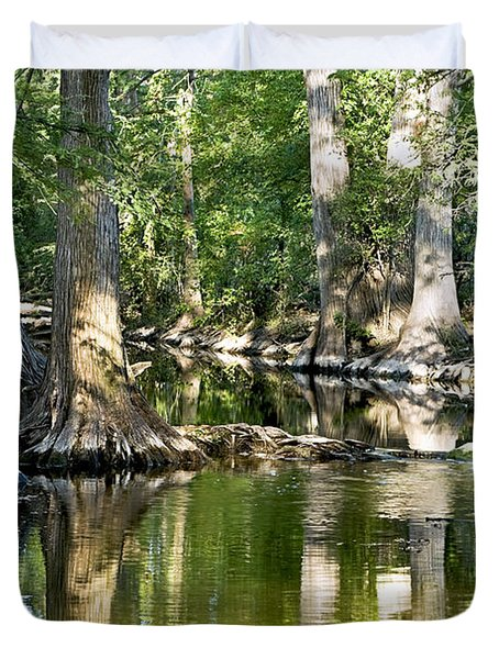 Cibolo Creek - 3 Duvet Cover