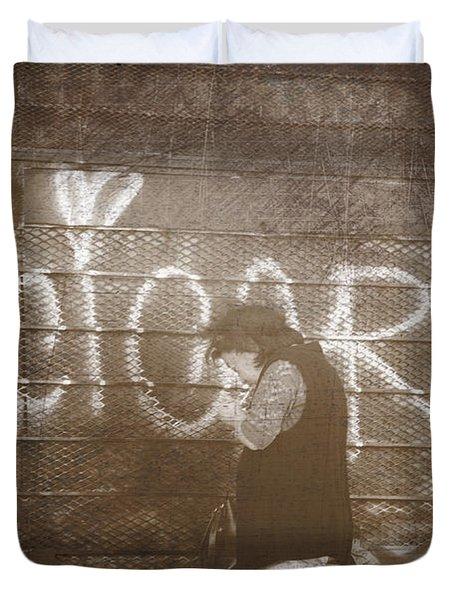 Cigars Only Duvet Cover