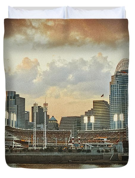 Cincinnati Ohio Vii Duvet Cover