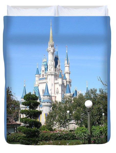 Cinderella's Castle - Disney World Orlando Duvet Cover
