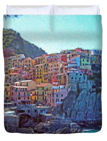 Cinque Terre Itl2617 Duvet Cover