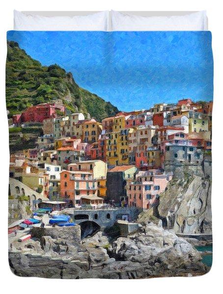 Cinque Terre Itl3403 Duvet Cover